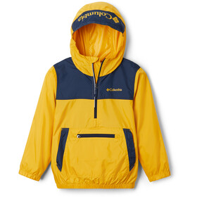 Columbia Bloomingport Windbreaker Jas Kinderen, bright gold